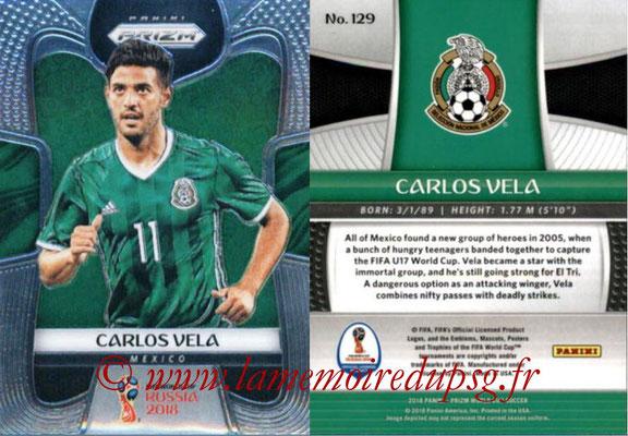 2018 - Panini Prizm FIFA World Cup Russia - N° 129 - Carlos VELA (Mexique)