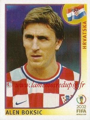 2002 - Panini FIFA World Cup Stickers - N° 491 - Alen BOKSIC (Croatie)