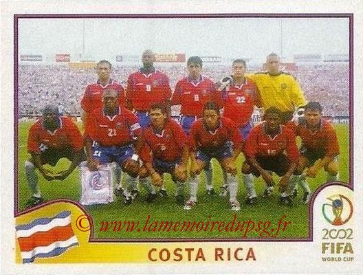 2002 - Panini FIFA World Cup Stickers - N° 223 - Equipe Costa Rica