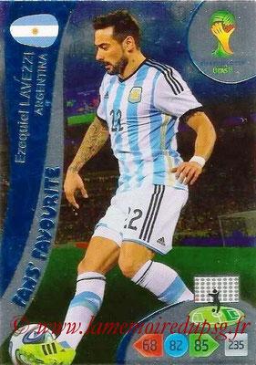 N° 325 - Ezequiel LAVEZZI (2012-??, PSG > 2014, Argentine) (Fans' favorite)
