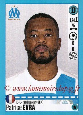 2016-17 - Panini Ligue 1 Stickers - N° T22 - Patrice EVRA (Marseille) (Set Transfert)