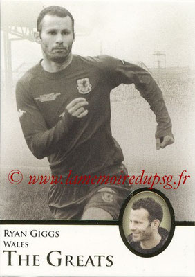 2013 - Futera World Football Unique - N° 108 - Ryan GIGGS (Pays de Galles) (The Greats)