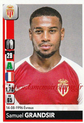 2018-19 - Panini Ligue 1 Stickers - N° 243 - Samuel GRANDSIR (Monaco)