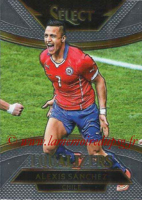 2015 - Panini Select Soccer - N° E05 - Alexis SANCHEZ (Chili) (Equalizers)