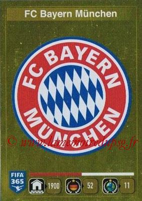 2015-16 - Panini FIFA 365 Stickers - N° 461 - Ecusson FC Bayern Munich