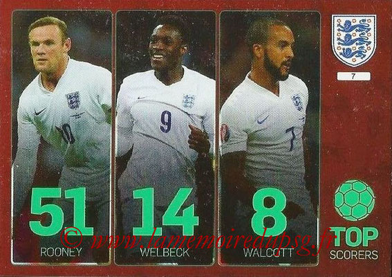 Panini England 2016 Adrenalyn XL - N° 007