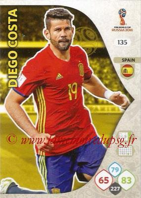 2018 - Panini FIFA World Cup Russia Adrenalyn XL - N° 135 - David DE GEA (Espagne)