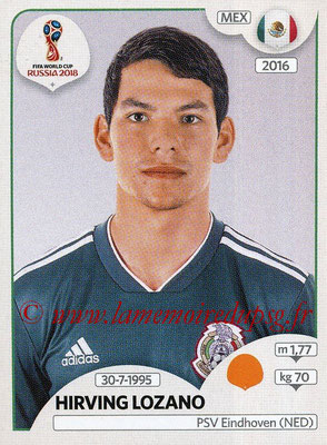 2018 - Panini FIFA World Cup Russia Stickers - N° 467 - Hirving LOZANO (Mexique)