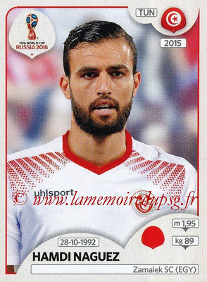 2018 - Panini FIFA World Cup Russia Stickers - N° 558 - Hamdi NAGUEZ (Tunisie)