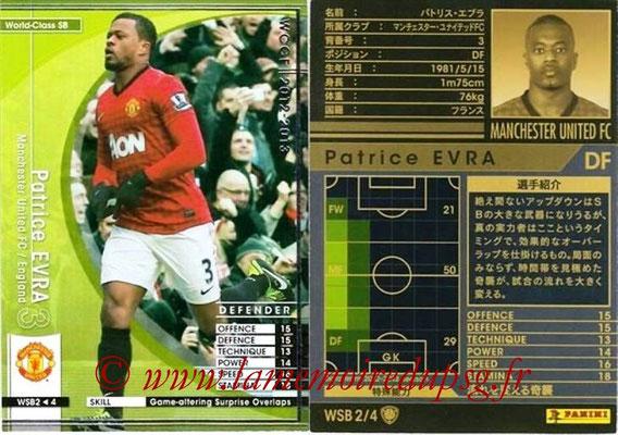 2012-13 - WCCF - N° WSB2 - Patrice EVRA (Manchester Unitedy FC) (World Class SB)