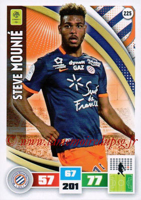 2016-17 - Panini Adrenalyn XL Ligue 1 - N° 225 - Steve MOUNIE (Montpellier)
