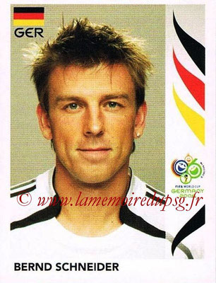 2006 - Panini FIFA World Cup Germany Stickers - N° 030 - Bernd SCHNEIDER (Allemangne)