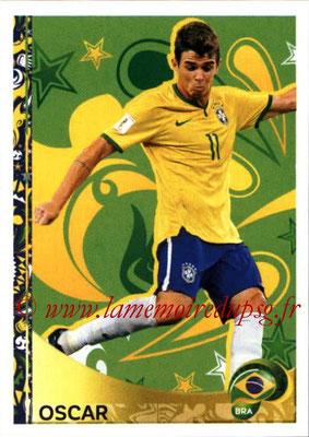 Panini Copa America Centenario USA 2016 Stickers - N° 405 - OSCAR (Bresil) (En action)