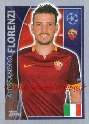 2015-16 - Topps UEFA Champions League Stickers - N° 344 - Alessandro FLORENZI (AS Roma)