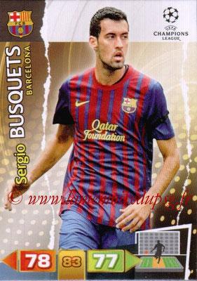 2011-12 - Panini Champions League Cards - N° 030 - Sergio BUSQUETS (FC Barcelone)