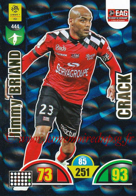 2018-19 - Panini Adrenalyn XL Ligue 1 - N° 444 - Jimmy BRIAND (Guingamp) (Crack)