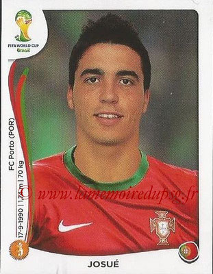 2014 - Panini FIFA World Cup Brazil Stickers - N° 516 - JOSUE (Portugal)
