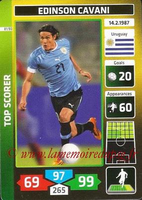 N° 81 - Edinson CAVANI (2013-??, PSG > 2014, Uruguay) (Top Scorer)