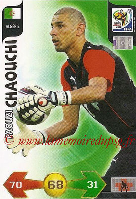 2010 - Panini FIFA World Cup South Africa Adrenalyn XL - N° 001 - Faouzi CHAOUCHI (Algerie)