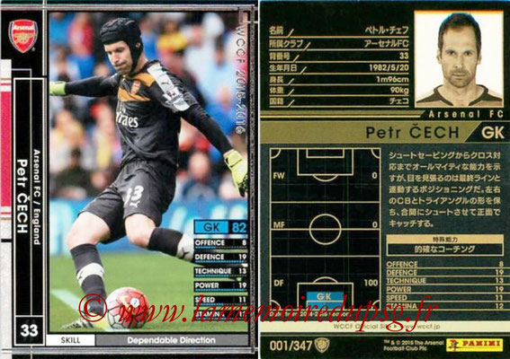 2015-16 - Panini WCCF - N° 001 - Petr CECH (Arsenal FC)