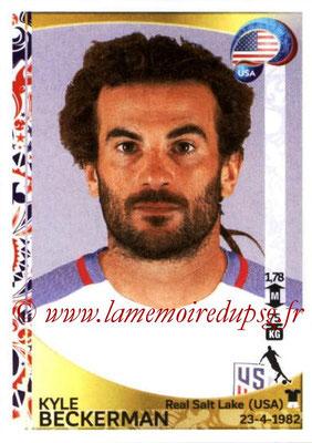 Panini Copa America Centenario USA 2016 Stickers - N° 031 - Kyle BECKERMAN (USA)