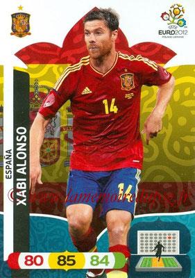 Panini Euro 2012 Cards Adrenalyn XL - N° 064 - Xabi ALONSO (Espagne)
