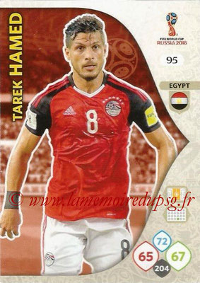 2018 - Panini FIFA World Cup Russia Adrenalyn XL - N° 095 - Tarek HAMED (Egypte)