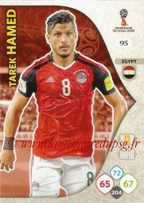 2018 - Panini FIFA World Cup Russia Adrenalyn XL - N° 095 - Tarek HAMED (Egypte)