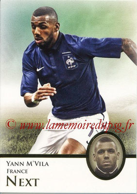 2013 - Futera World Football Unique - N° 094 - Yann M'VILA (France) (Next)