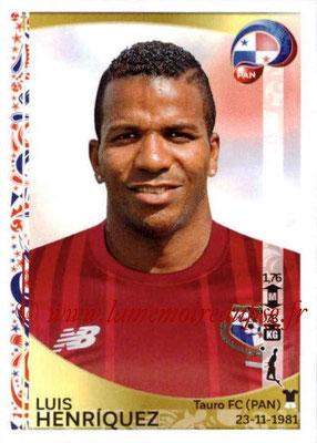 Panini Copa America Centenario USA 2016 Stickers - N° 355 - Luis HENRIQUEZ (Panama)