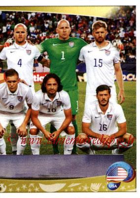 Panini Copa America Centenario USA 2016 Stickers - N° 016 - Equipe USA 2