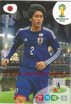 2014 - Panini FIFA World Cup Brazil Adrenalyn XL - N° 226 - Atsuto UCHIDA (Japon)