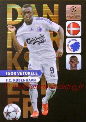 2013-14 - Adrenalyn XL champions League N° NE09 - Igor VETOKELE (Danmarksmester) (Nordic edition)
