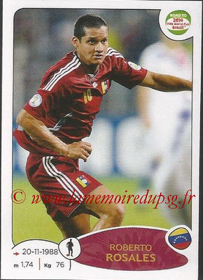 2014 - Panini Road to FIFA World Cup Brazil Stickers - N° 232 - Roberto ROSALES (Vénézuela)