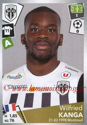 2017-18 - Panini Ligue 1 Stickers - N° 042 - Wilfried KANGA (Angers)