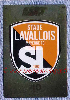 2015-16 - Panini Ligue 1 Stickers - N° 497 - Ecusson Stade Lavallois MFC