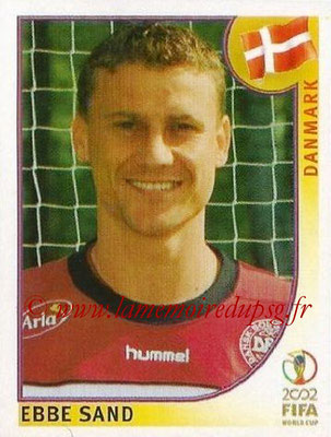 2002 - Panini FIFA World Cup Stickers - N° 096 - Ebbe SAND (Danemark)
