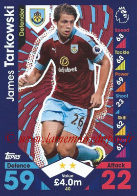 2016-17 - Topps Match Attax Premier League - N° 040