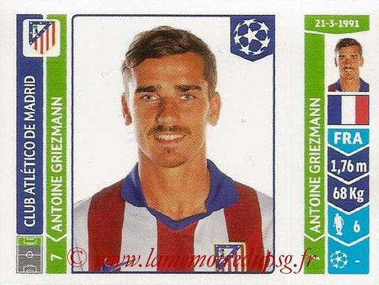 2014-15 - Panini Champions League N° 045 - Antoine GRIEZMANN (Atletico Madrid)