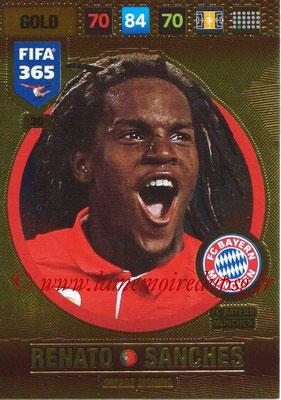 2016-17 - Panini Adrenalyn XL FIFA 365 - N° 030 - Renato SANCHES (FC Bayern Munich) (Impact Signing)
