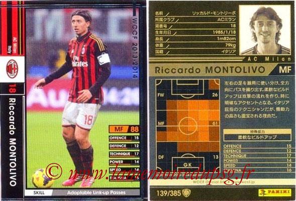 2013-14 - WCCF - N° 139 - Riccardo MONTOLIVO (Milan AC)