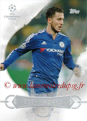 2015-16 - Topps UEFA Champions League Showcase Soccer - N° BB-EH - Eden HAZARD (Chelsea FC) (Best of the Best)
