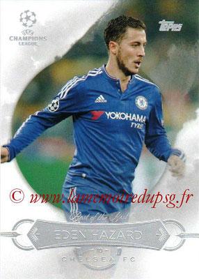 2015-16 - Topps UEFA Champions League Showcase Soccer - N° BB-EH - Eden HAZARD (Chelsea FC) (Best of the Best)