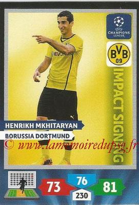 2013-14 - Adrenalyn XL champions League N° 269 - Henrikh MKHITARVAN (Borussia Dortmund) (Impact Signing)