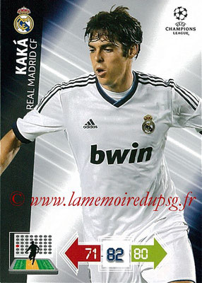 2012-13 - Adrenalyn XL champions League N° 225 - KAKA (Real Madrid CF)