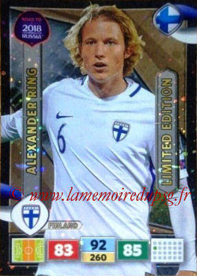 2018 - Panini Road to FIFA World Cup Russia Adrenalyn XL - N° LE-ARI - Alexander RING (Finlande) (Limited Edition)