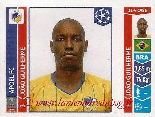 2014-15 - Panini Champions League N° 473 - Joao GUILHERME (Apoel FC)