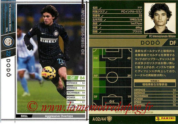 2013-14 - WCCF - N° A02 - DODO (FC Inter Milan)