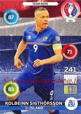 Panini Euro 2016 Cards - N° 164 - Kolbeinn SIGTHORSSON (Islande)