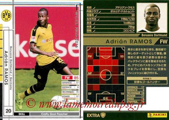 2015-16 - Panini WCCF - N° EXT14b - Adrian RAMOS (Borussia Dortmund) (Extra)